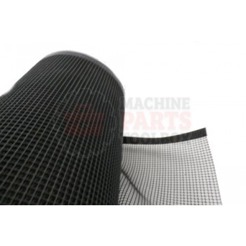 Lantech - Belt Drive 48 Inch Wide Black Porous Mesh 1/4 Inch Openings (OLD #27-30B OR 27-35B) Sewed And Sealed On Sides W/O Lacing Or Flap (Customers QTY Must Be One Continuous Piece Can'T Partial) - M2410000
