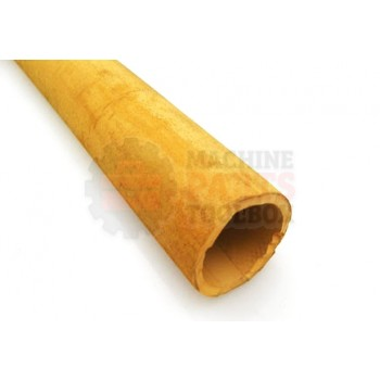 Lantech - Rubber Tube Brown Virgin Latex 1 7/8 OD X 1 1/2 ID Ground Smooth Ship Complete Only Do Not Partial Ship - M2500000