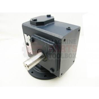 Lantech - Reducer 100:1 BMQ 220-100-3-56C W/Pipe - P-004724