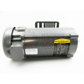 Lantech - Motor 1HP 180VDC 1750RPM 56C W/ Internal O/L Switch FLA 5.0A - P-004780