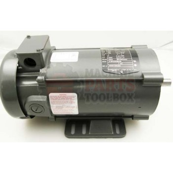 Lantech - Motor 3/4 HP 90VDC 1750 RPM 56C TEFC W/Thermostat And Bolt-ON Foot - P-004915