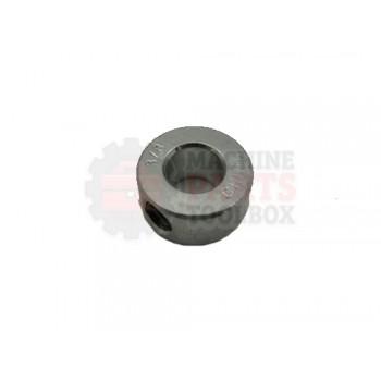 Lantech - Collar Shaft 3/8IN One Piece Solid ZINC Plated 1 Set Screw - P-005568