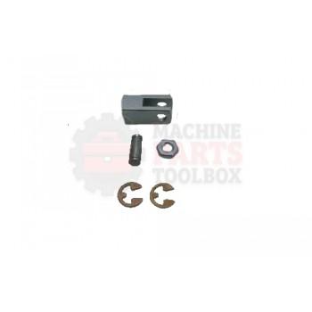Lantech - Clevis Rod 1/4-28 W/ Jam Nut And 1/4 OD Pin - P-009399