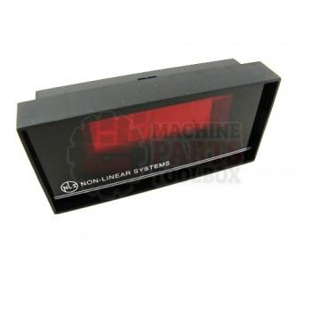 Lantech - Meter Digital Voltage 2VDC Full Scale 4IN X 2IN Panel Mount 5VDC - P-009412