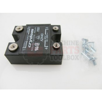 Lantech - Relay SS AC IN 240V 40A OUT - P-009424