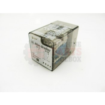 Lantech - Relay General Purpose 24VDC Coil 240VAC/24VDC 10A DPDT 8P Tube Base W/ Indicator - P-011012