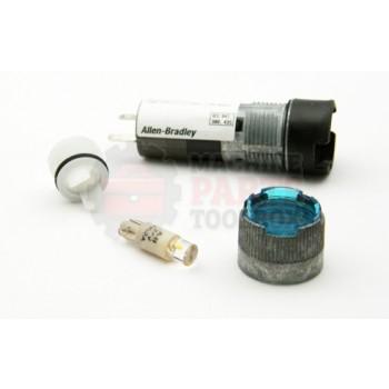 Lantech - Light Led FL RD BLU 24V - P-012431