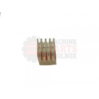 Lantech - Connector Pin 4P 0.100 Spacing Accepts 22AWG Wire - P-012523