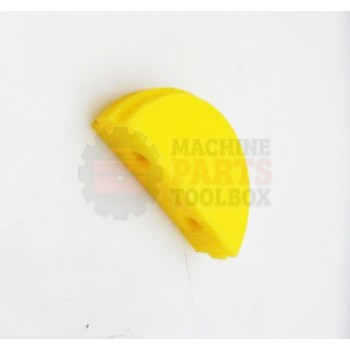 Lantech - UHMW Chain Guide For Single Chain (Yellow) - P-012752`