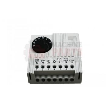 Lantech - Thermostat Control 5-55 DEGC Filter Fans/Heaters/Heat Exchangers 230/115/60/48/24VAC 60/48/24VDC 0.5-1.25A - P-012813