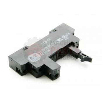 Lantech - Relay Socket 5P Din Rail Mount Slim Line SPDT - P-012994