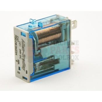 Lantech - Relay General Purpose 24VDC Coil 240VAC/30VDC 10A SPDT 5P Slim Line - P-013048