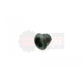 Lantech - Latch Housing Quarter-Turn Polyamide W/ ZINC-Plated Steel Nut - P-404105