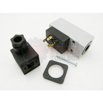 Lantech - Switch Pressure Adjustable 1-12 Bar 1NO/1NC G1/4 Connection (PEV-1/4-B) - PC10014