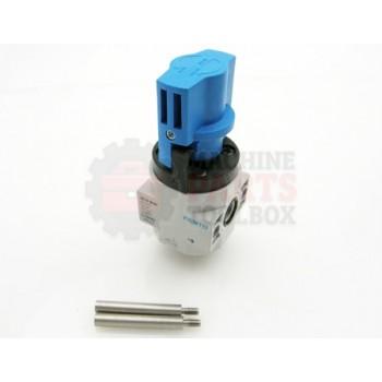 Lantech - Valve Dump Manual G1/8 16Bar Aluminum Die Cast (HE-D-Mini) - PC10440