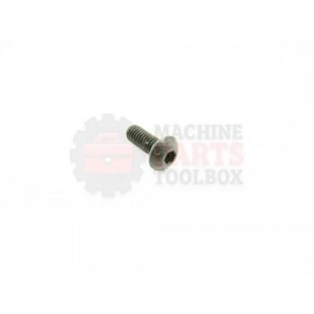 Lantech - Fastener Screw Machine M4X.70 X 10MM Button Head - P-SB0410