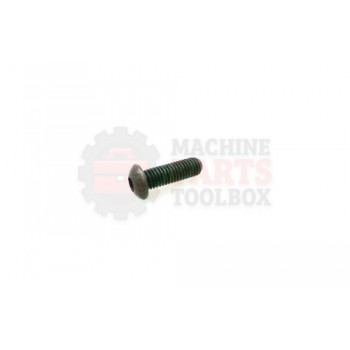 Lantech - Fastener Screw Machine M6X1.0 X 25MM Button Head Holo-Krome - P-SB0625