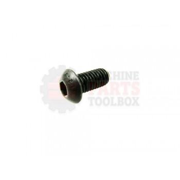 Lantech - Fastener Screw Machine M8X1.25 X 16MM Button Head Holo-Krome - P-SB0816