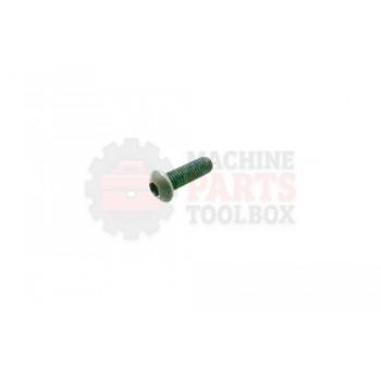 Lantech - Fastener Screw Machine M8X1.25 X 25MM Button Head - P-SB0825