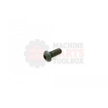Lantech - Fastener Screw Machine M10X1.5 X 25MM Button Head - P-SB1025