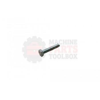 Lantech - Fastener Bolt M6X1.0 X 30MM Hex Head Cap Zinc Plated Steel - P-SH0630