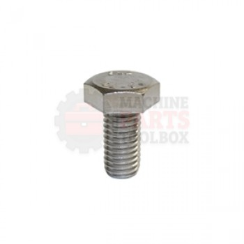 Lantech - Fastener Bolt M10X1.5 X 25MM Hex Head Class 8.8 - P-SH1025