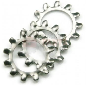 Lantech - Washer Star Lock M6 Steel - P-SW0600