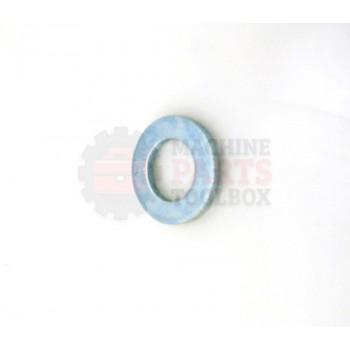 Lantech - Washer Flat For M16 Bolt Zinc-Plated Steel - P-WF1600