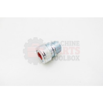 Lantech - Fitting So Cable 0.50 -STR For .125-.250 (Red) - S-007686