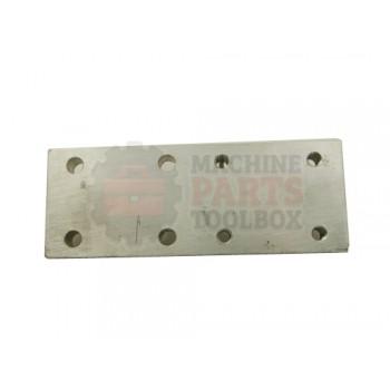Lantech - Plate Mounting Inner Flap Folder Aluminum - 000220A
