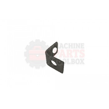 Lantech - Angle Formed Pusher Unit Mount Stainless Steel - 000263A