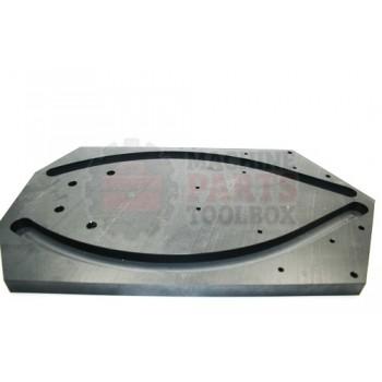 Lantech - Guide Plate Suction Frame Curve Black HMPE 500 - 002680A