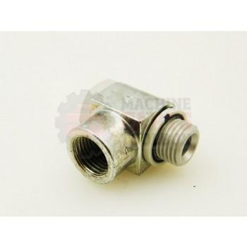 Lantech - Fitting Pneumatic Elbow SWIVEL G1/4 ISO Male/Female- 31066833