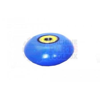 Lantech - WHEEL QUICK TURN BLUE POLYURETHANE - 30107485