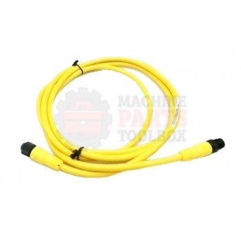 Lantech - CABLE ELECTRICAL EXTENSION 4COND 22AWG STR-F STR-M MICRO QD 2M PVC SHIELDED - 30134205