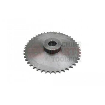 Lantech - SPROCKET METRIC 06B46H 46 TOOTH 3/4 BORE W/5MM KEYWAY 2 SET SCREWS - 30143636