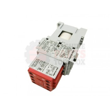 Lantech - CONTACTOR 24VDC 09A 3 POLE 1N.O. AUX 4 N.C. SAFETY LOAD SIDE COIL & INTERGRATED DIODE - # 31001486