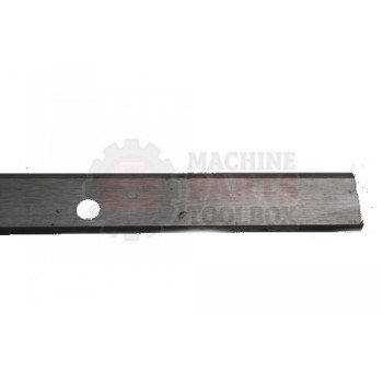 Lantech - BLADE KNIFE 22 INCH LGTH X 5/8 INCH WIDE X 1/8 INCH THK 498 LOW CARBON STEEL FROM STARRETT VP-40 40020 (PART IS NOT COATED - SOLD AS RAW MACHINED STEEL) - # 31021258