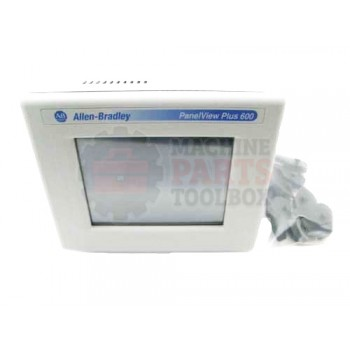 Lantech - DISPLAY TOUCH SCREEN PANELVIEW 600+ COLOR TOUCH 24VDC RS-232 & USB 32MB FLASH/64MB RAM - # 31029848