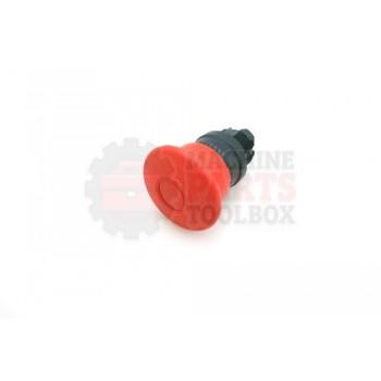 Lantech - SWITCH PUSH BUTTON HEAD 22MM PUSH/PULL NON-ILLUMINATED RED 40MM MUSHROOM HEAD - # 31032469