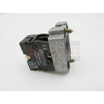 Lantech - Switch Base W/ 1 NO Contact Block For 22MM Series - P-007892