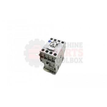 Lantech - CONTACTOR 24VDC 12A 1NC AUX LINE SIDE DIODE COIL - # 30165408