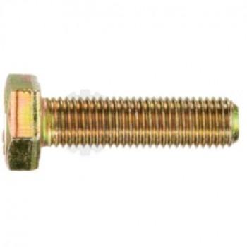 Lantech - FASTENER BOLT M12X1.75 X 55 HEX HEAD CLASS 10.9 ZINC YELLOW CHROMATE (FULLY THREADED) - # 30167780
