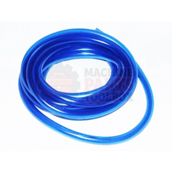 TEC Lighting - TRUV-21 - Part - Blue UV Coating Tubing - sold by the foot - # TBG-035 - UV Coating Machine Parts - Machine Parts Toolbox