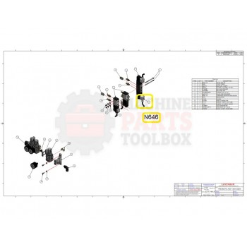 Loveshaw - VALVE CABLE- # N646