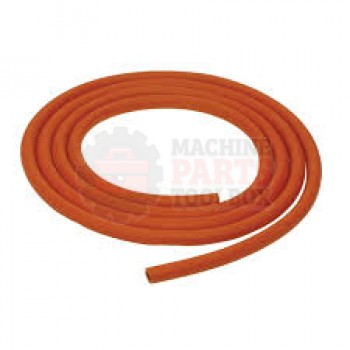 TEC Lighting - TRUV-21 - Part - Orange Coating Tubing - sold by the foot - # TBG-034 - UV Coating Machine Parts - Machine Parts Toolbox