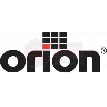 Orion - Hex Idler Roller - # 413249 - Strecth Wrap Machine Parts - Machine Parts Toolbox