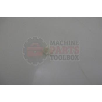 Lantech - Nut Round GROMMET Screw #8-#10 - P-010803