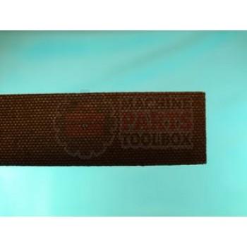 """Shanklin - Seal Pad 1/4"""" x 7/8"""" x 36"""" Brown sponge pad A27A RU-0052"""