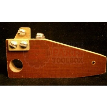 Shanklin - Wire follow block assembly, front & side S23/S24 - # S24020